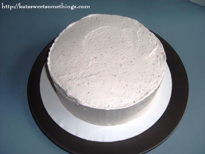 sunrise cake orange chiffon cake with strawberry whipped cream